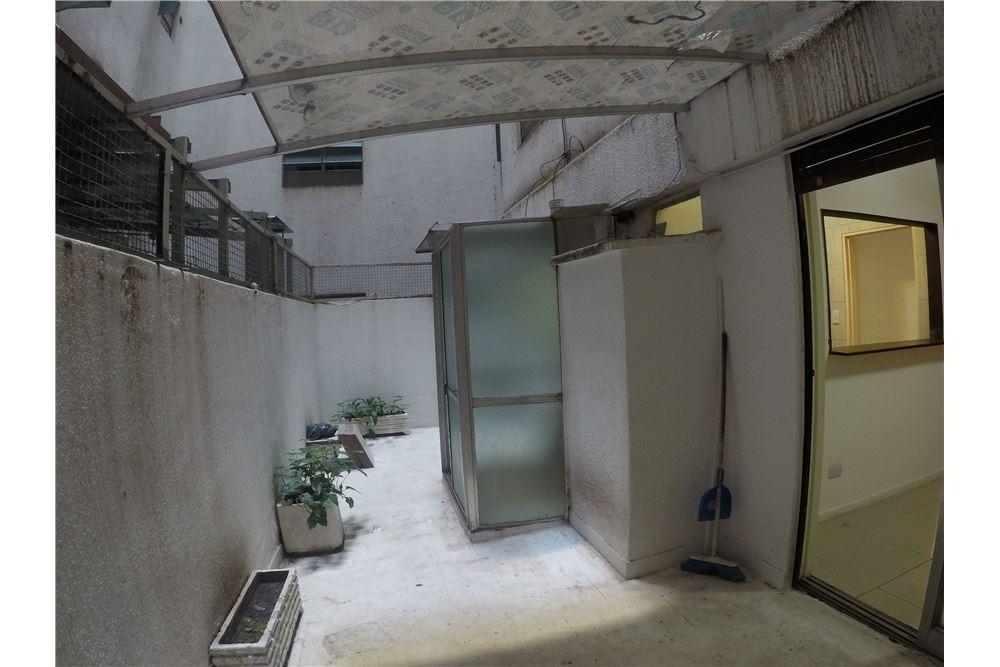 departamento dos ambientes con patio en nuñez
