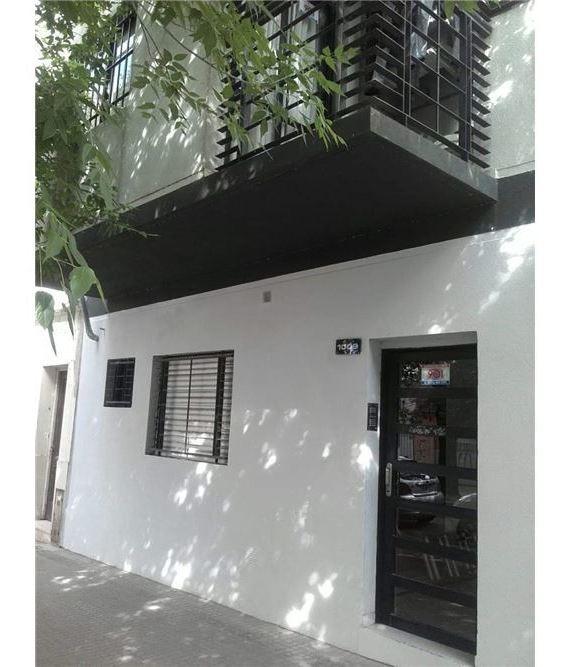 departamento dos dormitorios en la plata con patio