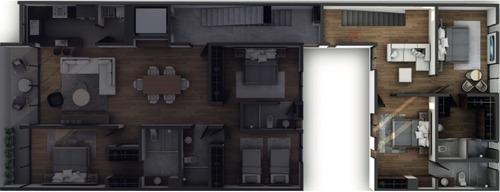 departamento duplex 1b, personalizado, 184m2, narvarte ,  2 terrazas  privada