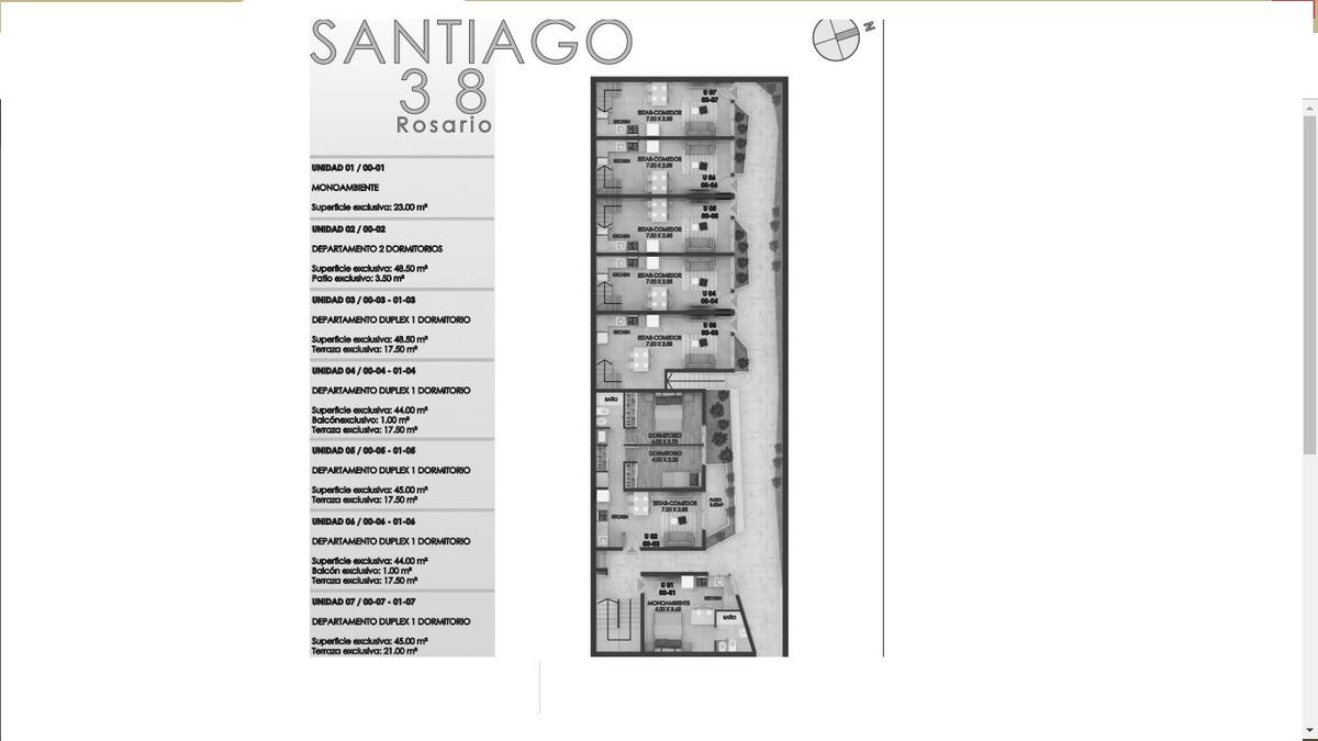 departamento duplex con terraza exclusiva - barrio pichincha - planta baja