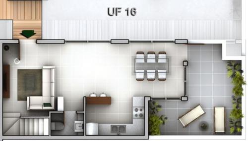 departamento duplex  en venta ubicado en centro, san martin de los andes