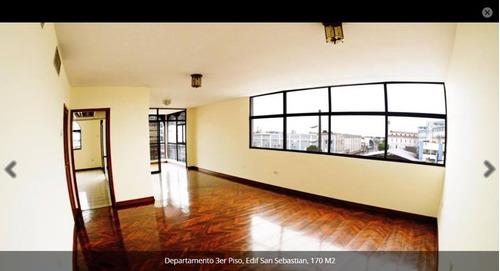 departamento  edificio san sebastian centenario
