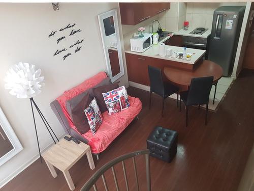 departamento elegante y sofisticado arriendo diario $30.000 oferta santiago centro