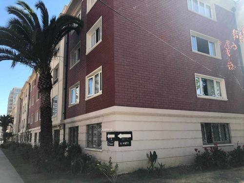 departamento en 4 norte, barrio poniente,tradicional edificio viña del mar