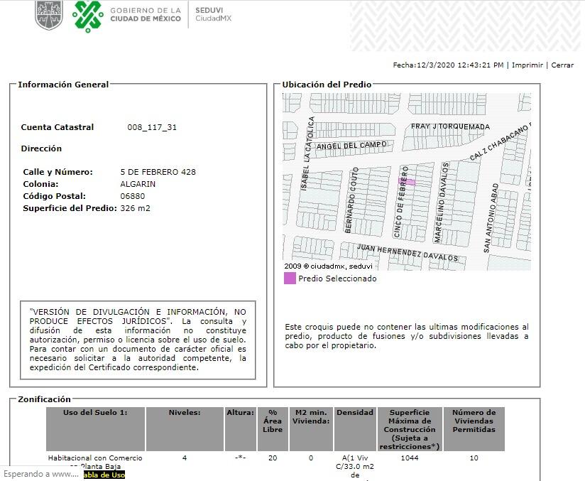departamento en algarin mx20-hy0879