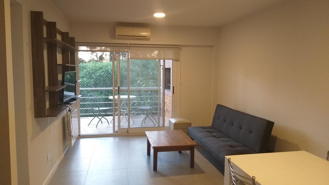 departamento en alquiler 2 ambientes vista abierta amoblado