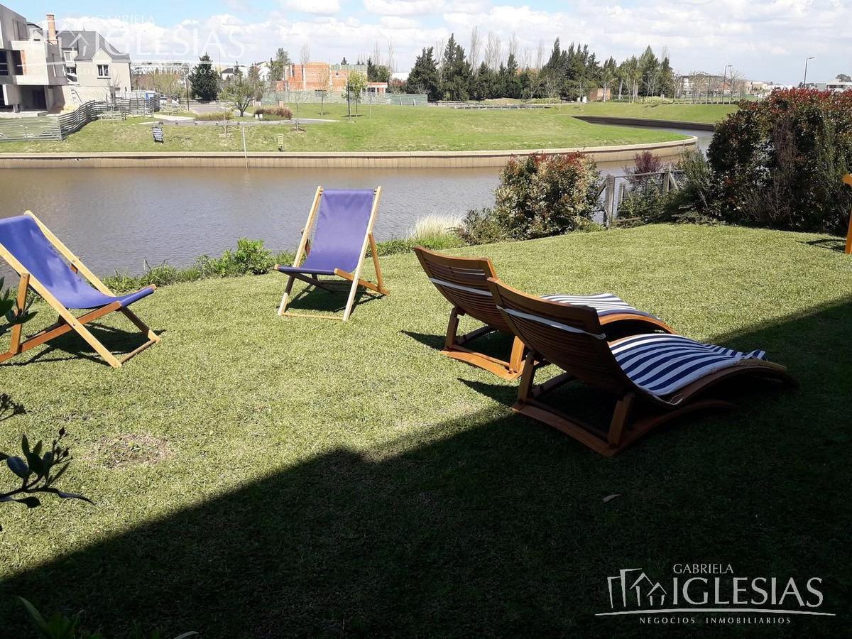 departamento en alquiler al río con 2 dormitorios en marinas del yacht