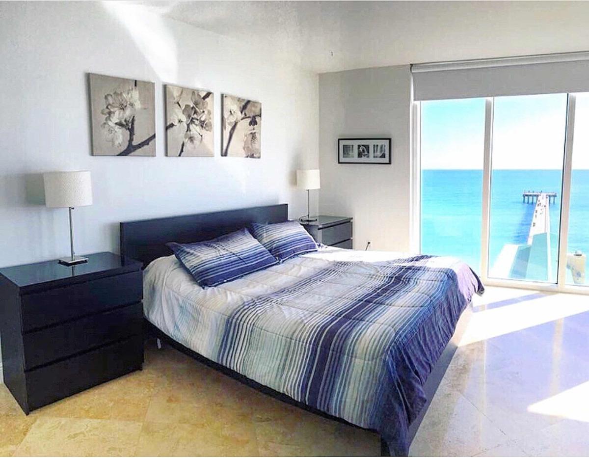 departamento en alquiler con vista directa al mar en miami