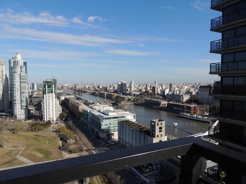 departamento en alquiler, dos dormitorios, river view