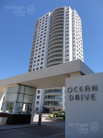 departamento en alquiler ocean drive - punta del este, cerca  shopping