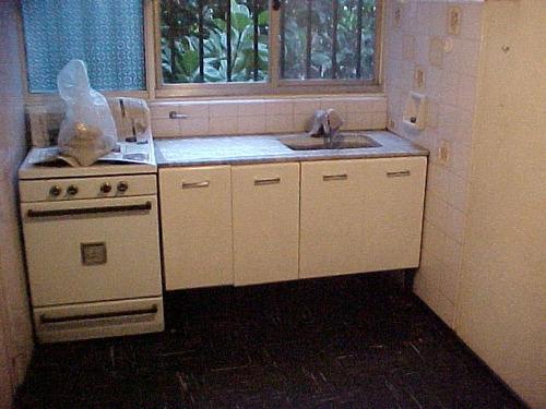 departamento en ciudad jardin en alquiler; 1 dormitorio, cocnai, living comedor, baño... mas exp y mun f: 1394