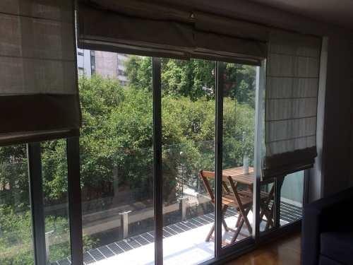 departamento en condesa con balcon