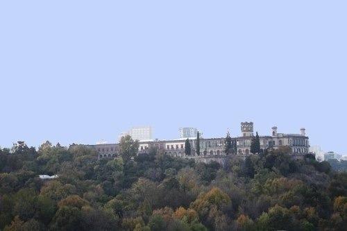 departamento en condesa vista al castillo de chapultepec