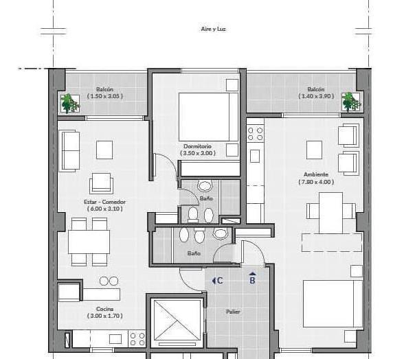 departamento - en construcción -  centro