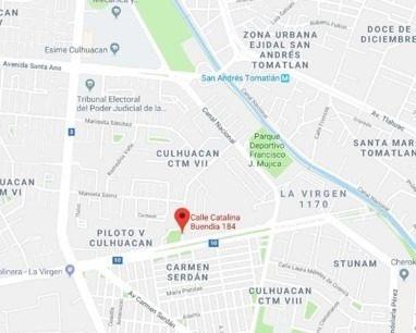 departamento en culhuacán cerca de metro san andres tomantlá