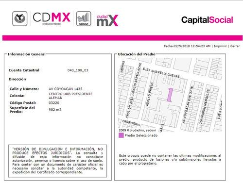 departamento en del valle centro mx18-en7645