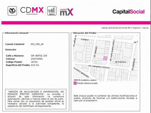 departamento en doctores mx18-ec4350