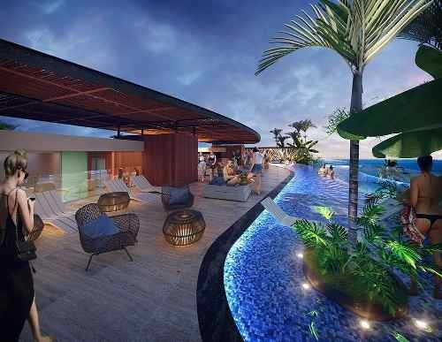 departamento en el centro de playa del carmen  $147,000 usd alivsam rav