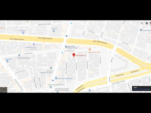 departamento en escandon mx18-eh1666