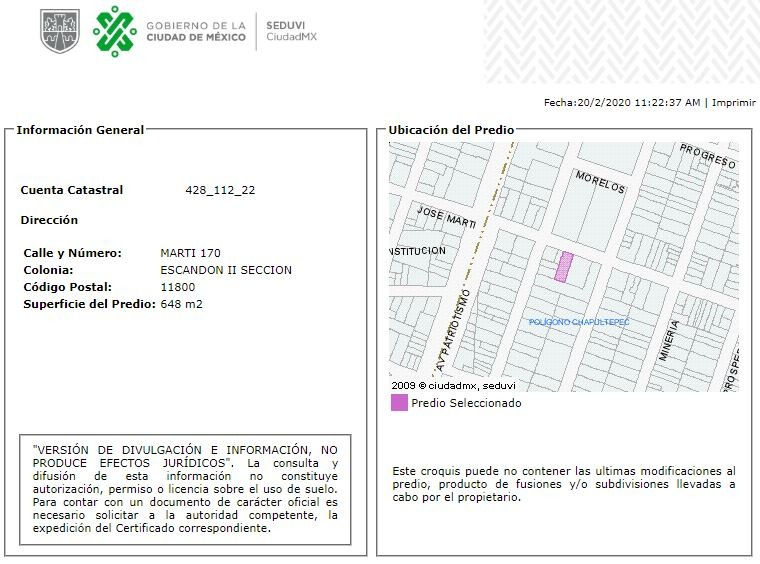 departamento en escandon mx20-hu0045