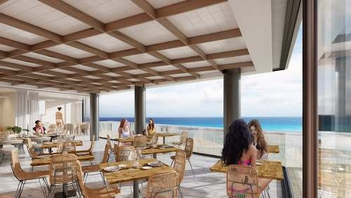 departamento en la playa en playa del carmen ¨it beach¨ lujo