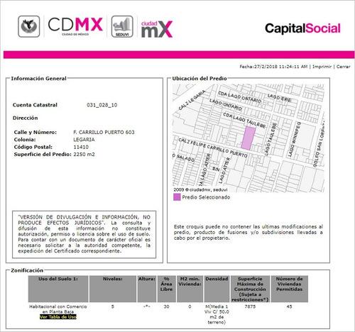 departamento en legaria mx18-ed4638
