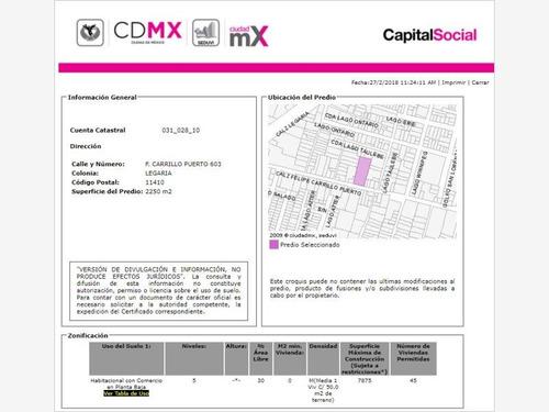 departamento en legaria mx18-ep7760