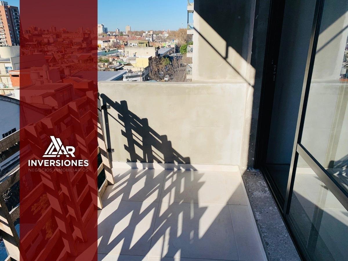 departamento en macrocentro - monoambiente con balcon al frente - proxima entrega