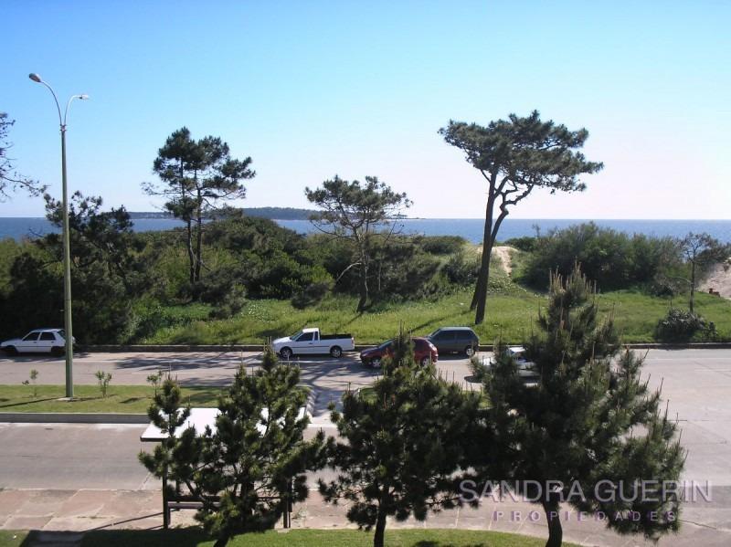 departamento en mansa  frente  al mar  punta del este- ref: 65