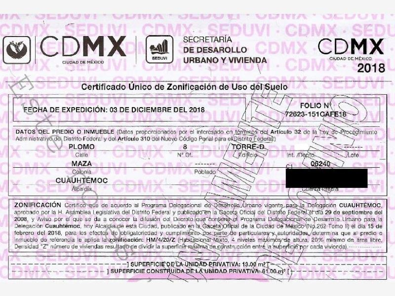 departamento en maza mx20-hq8098