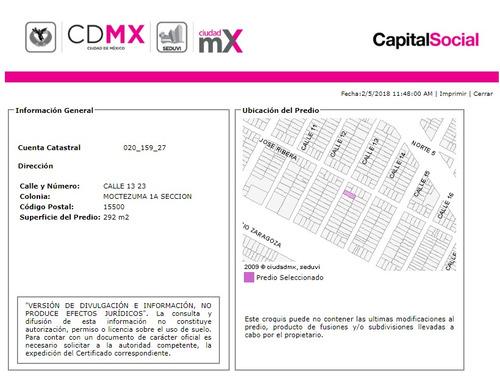 departamento en moctezuma 1ra secc mx18-el3185