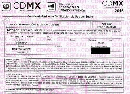 departamento en moderna mx18-eu6148