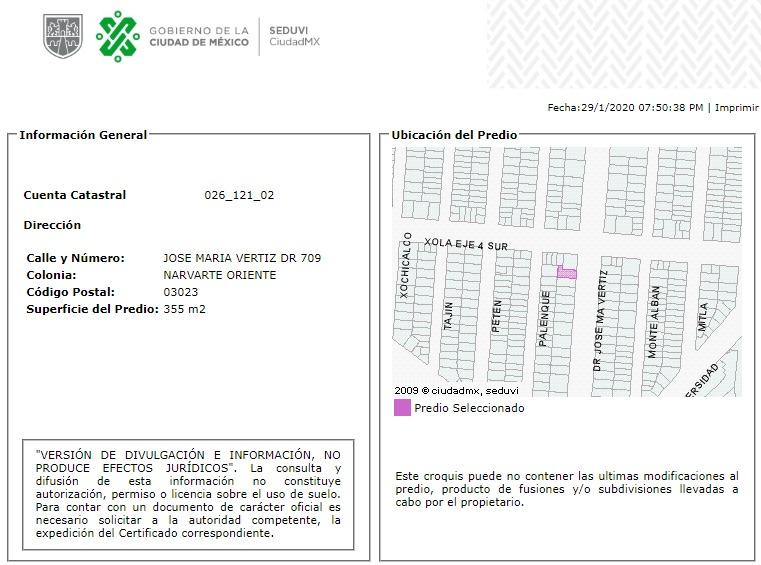 departamento en narvarte oriente mx20-hq5276