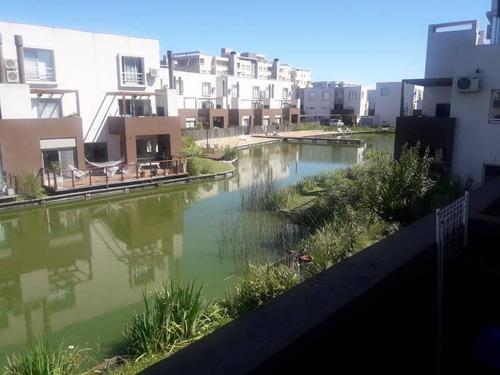 departamento en nordelta , lagos del sendero , vista al agua