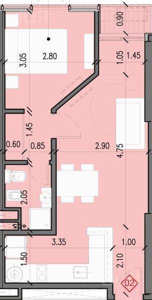 departamento en nueva córdoba de un dormitorio!!!!