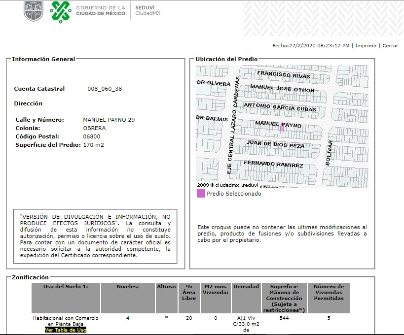 departamento en obrera mx20-hv3993
