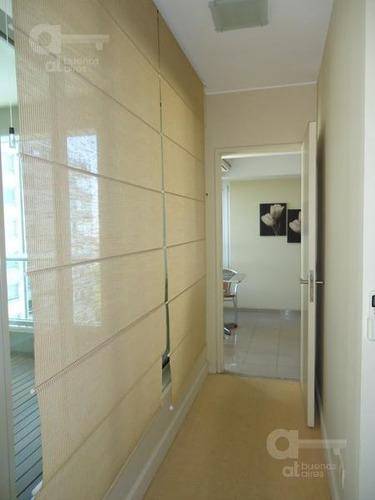 departamento en p. madero 3 ambientes con balcón aterrazado y amenities