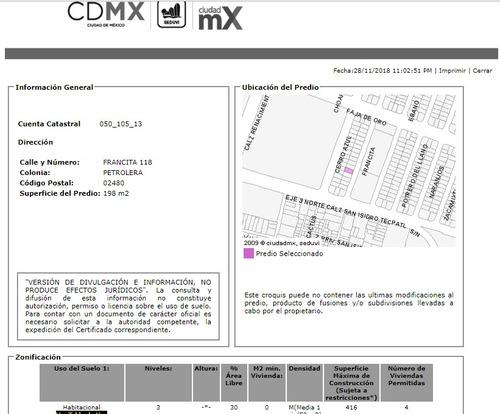 departamento en petrolera mx18-fm3693