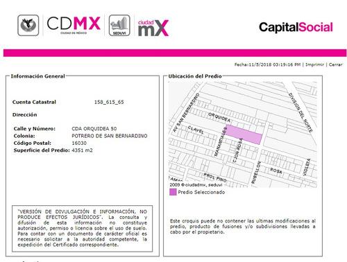 departamento en potrero de san bernardino mx18-em4883