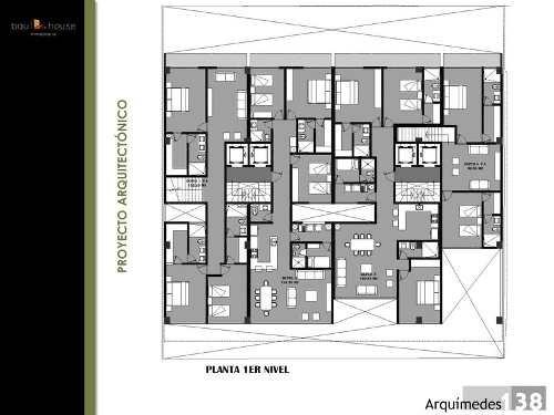 departamento en pre-venta en arquímides, col. polanco, cdmx