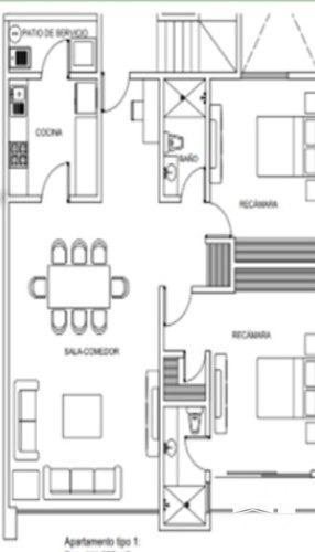 departamento en pre- venta en chula vista sd-1911b