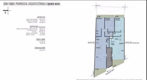 departamento en pre-venta en división del norte, benito juarez, cdmx.