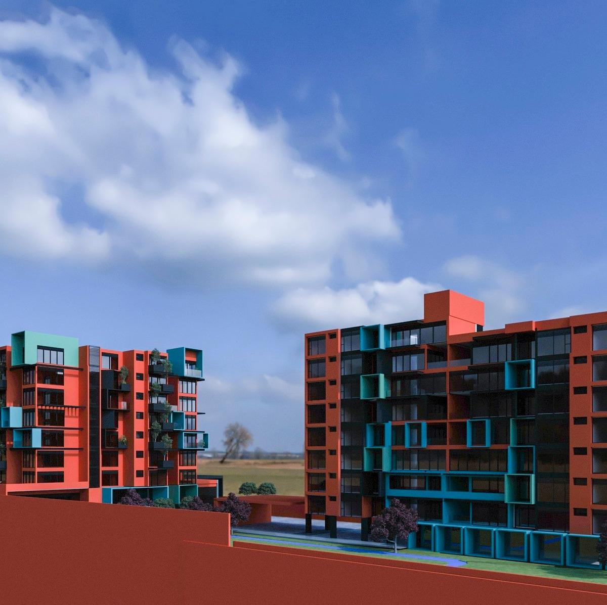 departamento en preventa bau residencial, zona esmeralda
