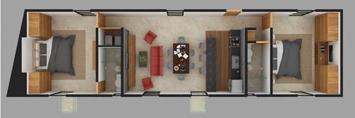 departamento en preventa de 2 habitaciones