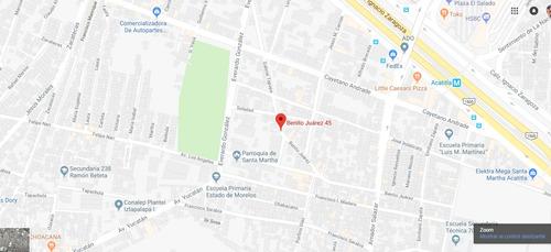 departamento en pueblo santa martha acatitla mx18-ev2534