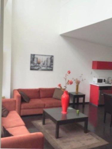 departamento en renta amueblado en city santa fe, cuajimalpa, cdmx
