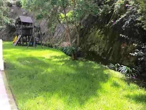 departamento en renta con jardin en planta baja enramada