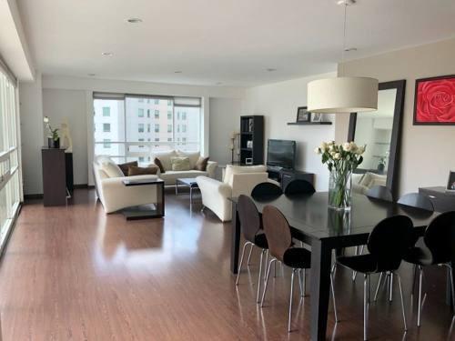 departamento en renta con terraza en residencial toledo, interlomas