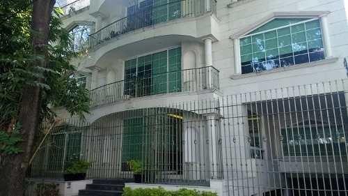 departamento en renta de 340m2 con patio y terraza, polanco
