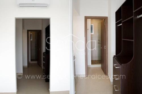 departamento en renta de una habitación en vía montejo en séptimo piso